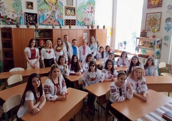 вишиванка, педагогічний коледж